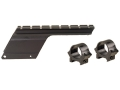 Product detail of B-Square Shotgun Saddle Mount with 1&quot; Rings Remington 870 Express 20 Gauge LT Matte