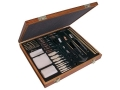 Product detail of Outers 62-Piece Universal Cleaning Kit with Wooden Box
