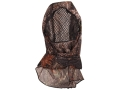 Shannon Bug Tamer Plus Headnet with Face Shield Polyester Mossy Oak Break-Up Camo Small/Medium
