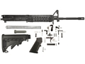 "Del-Ton M4 Carbine Kit AR-15 5.56x45mm NATO 1 in 7"" Twist 16"" Chrome Lined Barrel Upper Assembly, Lower Parts Kit, M4 Collapsible Buttstock"
