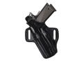 Galco Fletch Belt Holster Left Hand Glock 17, 22, 31 Leather Black
