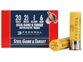 "Product detail of Federal Game & Target Ammunition 20 Gauge 2-3/4"" 3/4 oz #6 Non-Toxic Steel Shot Box of 25"