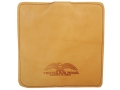 Protektor Small Pillow Shooting Rest Bag Leather Tan Unfilled