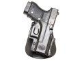 Fobus Roto Paddle Holster Right Hand Glock 29, 30, 39, S&W 99, Sigma V-Series Polymer Black