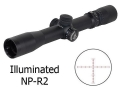 Product detail of Nightforce NXS Rifle Scope 30mm Tube 2.5-10x 32mm Illuminated NP-R2 Reticle Matte