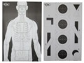 Product detail of VTAC Double Sided Target Paper Black/White Package of 100