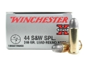 Winchester Super-X Ammunition 44 Special 246 Grain Lead Round Nose Case of 500 (10 Boxes of 50)