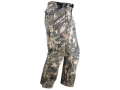 Sitka Gear Men&#39;s Coldfront Waterproof Pants Polyester