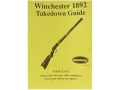 "Radocy Takedown Guide ""Winchester 1892"""