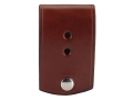 Product detail of Van Horn Leather Badge Holder Leather Chestnut