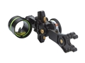 HHA Sports Optimizer Lite King Pin 5519 1-Pin Bow Sight with Rheostat Scope Right Hand Black