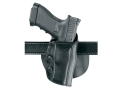 "Safariland 568 Custom Fit Belt & Paddle Holster Right Hand S&W N-Frame 4"" Barrel Composite Black"