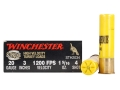 Winchester Double X Turkey Ammunition 20 Gauge 3&quot; 1-5/16 oz #4 Copper Plated Shot Box of 10