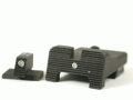 Product detail of Heinie Straight Eight SlantPro Night Sight Set Browning Hi-Power Steel Blue Tritium