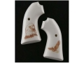 Hogue Grips Ruger Bisley Ivory Polymer Eagle with Talons Pattern