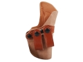 Gould & Goodrich 808 Inside the Waistband Holster Right Hand 1911 Compact Leather Tan