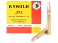 Product detail of Kynoch Ammunition 375 Flanged Magnum 300 Grain Woodleigh Weldcore Soft Point Box of 5