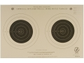 NRA Official Smallbore Rifle Training Targets TQ-3/2 50 Yard Tagboard Pack of 100