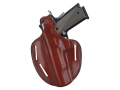 Bianchi 7 Shadow 2 Holster Left Hand Glock 19, 23 Leather Tan