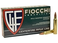 Fiocchi Shooting Dynamics Ammunition 223 Remington 55 Grain Pointed Soft Point Box of 20