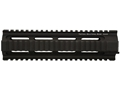 Tactical Solutions Free Float Tube Handguard Quad Rail AR-15 Mid-Length Aluminum Black