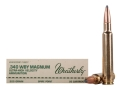 Weatherby Ammunition 340 Weatherby Magnum 225 Grain Hornady Spire Point Box of 20