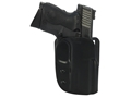 "Product detail of Blade-Tech ASR Outside the Waistband Holster Right Hand Springfield XDM 45 3.8"" Kydex Black"