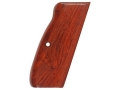 Product detail of Hogue Fancy Hardwood Grips CZ 75, EAA Witness 9mm, Tanfoglio, Springfield P9, Sphinx Cocobolo
