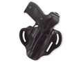 Galco COP 3 Slot Holster Right Hand S&W 39, 3904, 4006, 4046, 59, 5904, 5906, 639 Leather Black