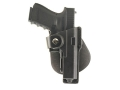 Fobus Tactical Speed Roto Paddle Holster Right Hand Glock 19, 23, 32 with Laser or Light Polymer Black