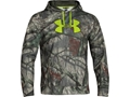 Under Armour Men's ColdGear Infrared Scent Control Hooded Sweatshirt Polyester Mossy Oak Treestand Camo 2XL 50-52