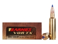 Barnes VOR-TX Ammunition 300 Winchester Short Magnum (WSM) 165 Grain Tipped Triple-Shock X Bullet Boat Tail Lead-Free Box of 20