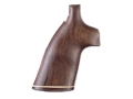 Hogue Fancy Hardwood Grips with Accent Stripe S&W N-Frame Round Butt