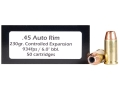 Doubletap Ammunition 45 Auto Rim (Not ACP) 230 Grain Controlled Expansion Jacketed Hollow Point Box of 50