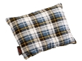 Texsport Camp Pillow 10&quot; x 20&quot; Cotton Flannel Plaid