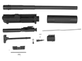 "DPMS LR-308 Unassembled Upper Receiver Kit 308 Winchester 18"" 416 Stainless Steel Bull Barrel with Flat Top Upper Receiver Carbine Length Free Float Hanguard"