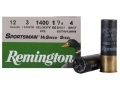 Remington Sportsman Hi-Speed Ammunition 12 Gauge 3&quot; 1-1/4 oz #4 Non-Toxic Steel Shot