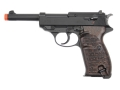 Walther P38 Air Pistol 177 Caliber Wood Grip Blue Barrel