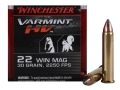 Winchester Varmint High Velocity Ammunition 22 Winchester Magnum Rimfire (WMR) 30 Grain Hornady V-Max