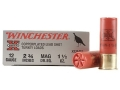 "Winchester Super-X Turkey Ammunition 12 Gauge 2-3/4"" 1-1/2 oz #6 Copper Plated Shot Box of 10"