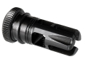 "Advanced Armament Co (AAC) Brakeout Flash Hider Muzzle Brake 51-Tooth Ratchet Suppressor Mount 5.56mm AR-15 1/2""-28 Thread Steel Matte"