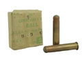 Military Surplus Ammunition 410 Enfield Musket MK-1-Z Lead Round Ball Berdan Primed Sealed Tin of 180 in Wood Crate