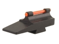 "Williams Fire Sight Muzzleloader Front Ramp Octagon .450"" Height, .531"" Width Fiber Optic Red"