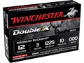 "Winchester Double X Magnum Ammunition 12 Gauge 3"" Buffered 000 Copper Plated Buckshot 10 Pellets Box of 5"