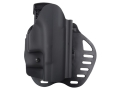 Product detail of Hogue PowerSpeed Concealed Carry Holster Outside the Waistband (OWB) Right Hand Glock 29, 30  Polymer Black