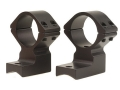 "Talley Lightweight 2-Piece Scope Mounts with Integral 1"" Extended Front Savage 10 Through 16, 110 Through 116 Round Rear, Axis Matte Extra-High"