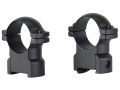 "Leupold 1"" Ring Mounts CZ 550 Matte High"