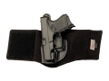 Product detail of Galco Ankle Glove Holster Left Hand Glock 26, 27, 33 Leather with Neoprene Leg Band Black