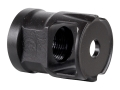 Advanced Armament Co (AAC) Single Chamber Muzzle Brake Non-Suppressor Mount (NSM) 5.56mm AR-15 1/2&quot;-28 Thread Matte