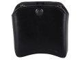 El Paso Saddlery Double Magazine Pouch Double Stack 45 ACP, 10mm Magazine Leather Black